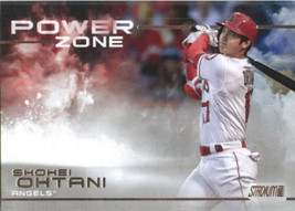2019 TOPPS STADIUM CLUB POWER ZONE #PZ-1 SHOHEI OHTANI NM-MT ANGELS - $0.98