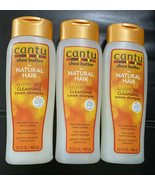 3 Pack Cantu Shea Butter for Natural Hair Cleansing Cream Shampoo 13.5oz - $25.00