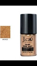J.cat Beauty Authentic Shine Your Day! Shimmery Eye Shadow BRONZE NEW  - $8.92