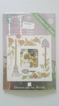 In The Garden Cross Stitch Kit  Designs for the Needle # 2073 Birdhouse ... - $5.94