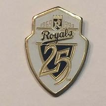 Kansas City Royals Lapel Hat Pin 25 yr Anniversary 1969 - 1999 Phillips 66 - $16.83