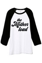 Thread Tank The Mother Load Unisex 3/4 Sleeves Baseball Raglan T-Shirt Tee White - $24.99+