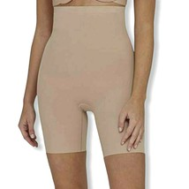 Assets by Spanx Womens Size 2 Micro High Waist Mid-Thigh Shaper Color Bu... - $27.71