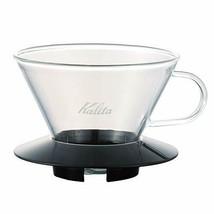 Carita Kalita coffee Wave series glass dripper 185 [2 to 4 for people] B... - $32.64