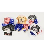 Patriotic Pet Dress Up Costumes Red White and Blue - $5.39