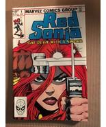 Red Sonja #1 Marvel Comic Book 1983 VF+ Condition CONAN - £5.08 GBP