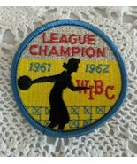 League Champion WIBC 1961-1962 Embroidered Patch - $7.71