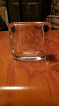 "AUTHENTIC VINTAGE ORREFORS CRYSTAL VASE 5"" X 2.5"" - $49.50"