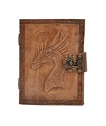 Handmade Leather Journal Games of Thrones Emossed Antique Design Daily N... - $26.73