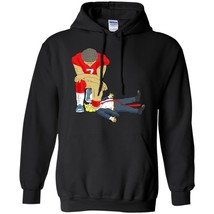 Hoodie Colin Kapernick And Donald Trump Cool Men Clothes Black Navy Colo... - $39.55