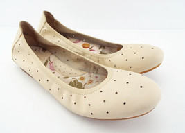 New BORN Size 7.5 Ivory Leather Ballet Flats Shoes 7 1/2 - $44.00