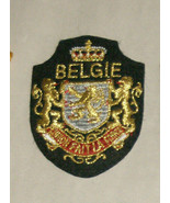 "Belgie Fait La Force 3"" Embroidered Sewn World Travel Patch - $14.22"