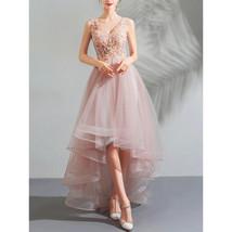 Women Lace Covered Bust Elegant Wedding Dress - $169.99