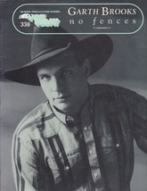 Garth Brooks MUSIC BOOK for Organ, Piano & Keyboards No Fences No 338 1992  - $10.44