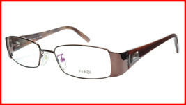 FENDI Eyeglasses Frame F892 (212) Metal Acetate Bronze Italy Made 52-17-... - $177.57