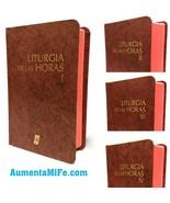 Liturgia de las Horas Rito Romano Set de 4 Tomos Vol 1, 2, 3 y 4 (I II I... - $187.11