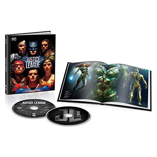 Justice League Limited Edition Target Exclusive Digibook (Blu-ray+DVD+Digital)