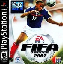 FIFA Soccer 2002 PS1 Great Condition Complete Fast Shipping - $8.94