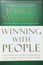 Winning With People, John C. Maxwell, Christian Living,Business & Profe... - $13.95