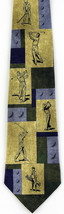 Golf Swing Mens Necktie Ball Club Golfing Eagles Wings Sports Silk Gift ... - $17.82