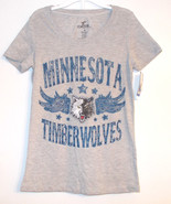 Luxe Athletics Womens Minnesota Timberwolves  T-Shirts Sizes S, M, L and... - $10.39