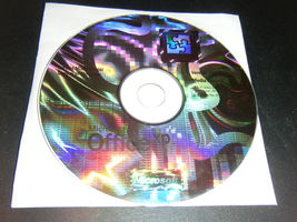 Microsoft Office XP Hologram Installation CD - No Serial Key Number - $9.99
