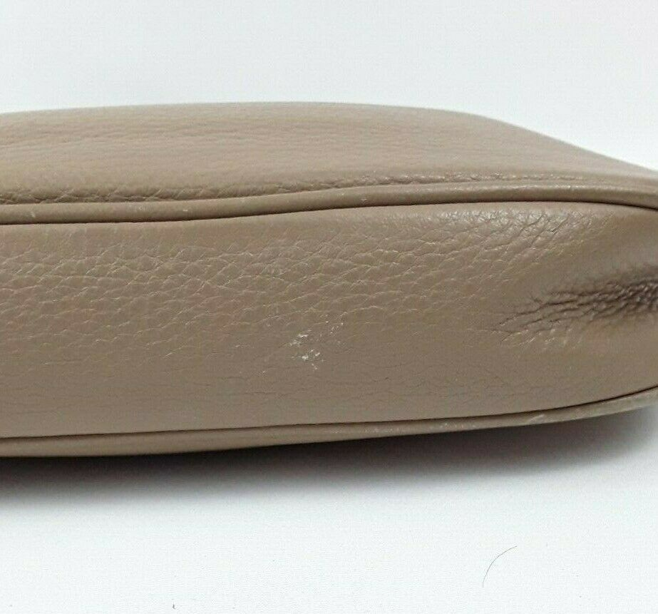 Michael Kors Tan Wrist Wallet Clutch Handbag