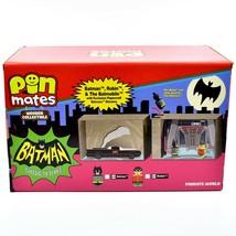 Pin Mates Batman Classic TV Series Batmobile Robin & Batcave Entertainment Earth image 2