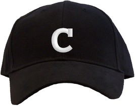 Letter C Initial Embroidered Pro Sport Baseball Cap - Available in 7 Col... - $25.95