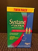 Alcon Systane ULTRA High Performance Lubricant Eye Drops 2 Bottles 1/3 o... - $14.80
