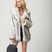 Women's Winter Luxury Fashion Faux Fur Coat image 3