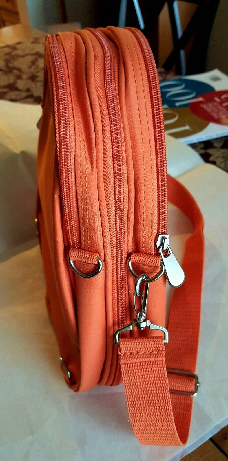 Beyond a Bag 3 Bags in One Backpack, Sling and Duffel Bag NWT image 10