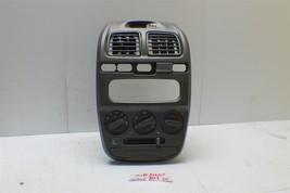 2002 Hyundai Accent Center Dash Heater AC Climate Control W/ Bezel Cup 2... - $59.39