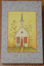 Partylite Winding Lane Chapel Candleholder By Susan Winget New In Box - $35.00