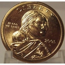 2005-D Sacagawea Dollar MATTE FINISH BU #0502 - $7.99
