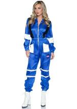 Blue Nylon Space Explorer Spacesuit/Jumpsuit Costume by Leg Avenue™/NWT - $89.00