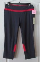 Tangerine Nano Ripstop Stretch Woven Capri Rose Women's Sz S-L NWT MSRP$68 - $21.84
