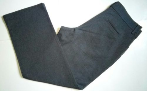 Lee Relaxed Fit at the Waist Womens Size 14 Short Grey Denim Jeans Pants (34x32) image 2