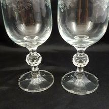 Crystalex Import Assoc Cascade Champagne Flutes Set of 2 Czech Crystal 6 oz image 9