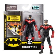 """The Caped Crusader Red Nightwing 4"""" Action Figure with 3 Mystery Accesso... - $24.88"""