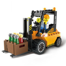 Constructor Firefighting Sweeper City Series Building Blocks compatible ... - $20.90