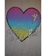 Disney TinkerBell Tinker Bell T-Shirt Heart Size Junior's XL 15/17 - $9.89