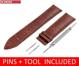 For Tissot Watch Brown Leather Strap/Band Clasp 18 19 20 21 22mm - $12.18