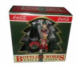Coca Cola Bottling Works Collection Christmas Tree Ornament in Box  - $9.95