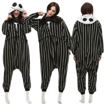 Nightmare Before Christmas JACK Adult Cosplay Kigurumi Pajamas Sleepwear - £12.99 GBP