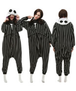 Nightmare Before Christmas JACK Adult Cosplay Kigurumi Pajamas Sleepwear - £13.27 GBP