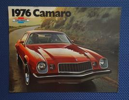 1976 Chevrolet CAMARO Only Color Sales Brochure - Original New Old Stock - $9.50