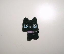 315 LITTLEST PET SHOP BABY FUZZY BLACK SCOTTIE TERRIER PUPPY DOG BLUE EY... - $10.76