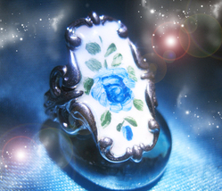 HAUNTED RING MAGINIFYING PRESTIGE GOLDEN ROYAL COLLECTION OOAK EXTREME M... - $295.11