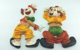 Vintage Colorful Homco Plastic Wall Decor Clown Pants Falling down Wall ... - $14.99